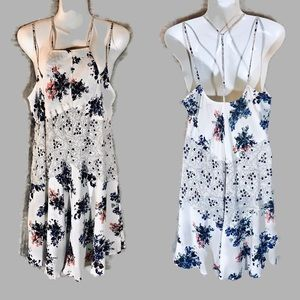 Free People Intimately Multi Strapped Dress, Small